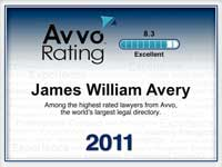 Avvo Lawyer Rating Excellent
