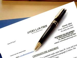 Contingency Fee Retainer Agreement by Avery Law Firm
